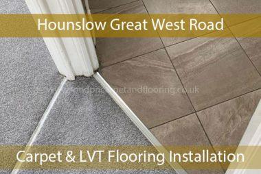 Carpet & LVT Flooring Installation